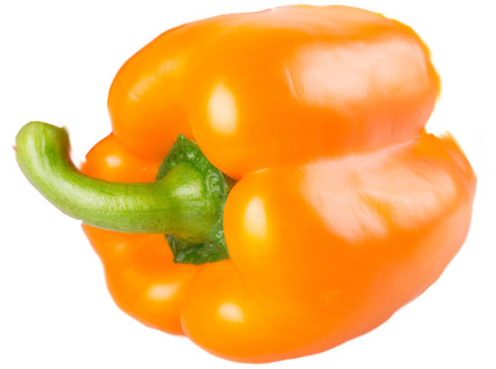 orange bell pepper california supplier usa